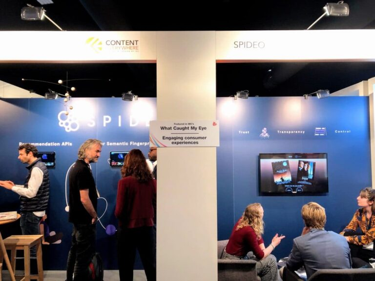 Spideo Stand at IBC